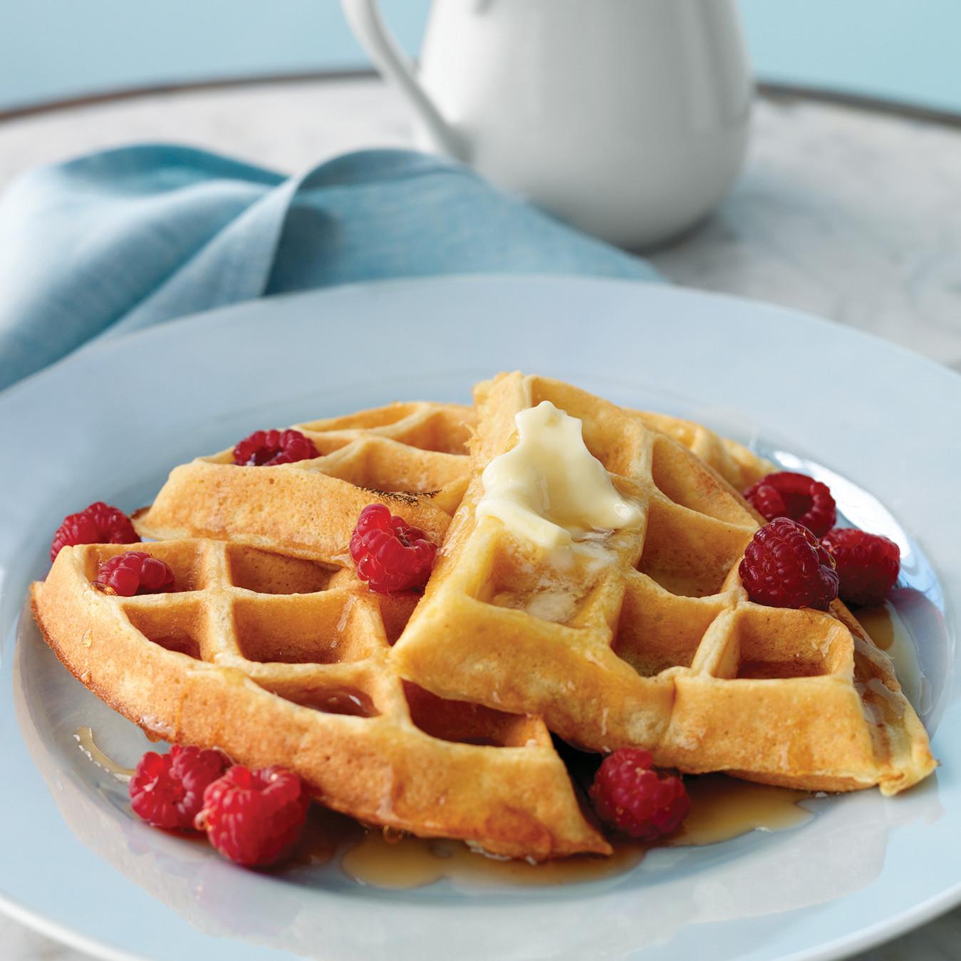Donn's Waffles Recipe | Martha Stewart
