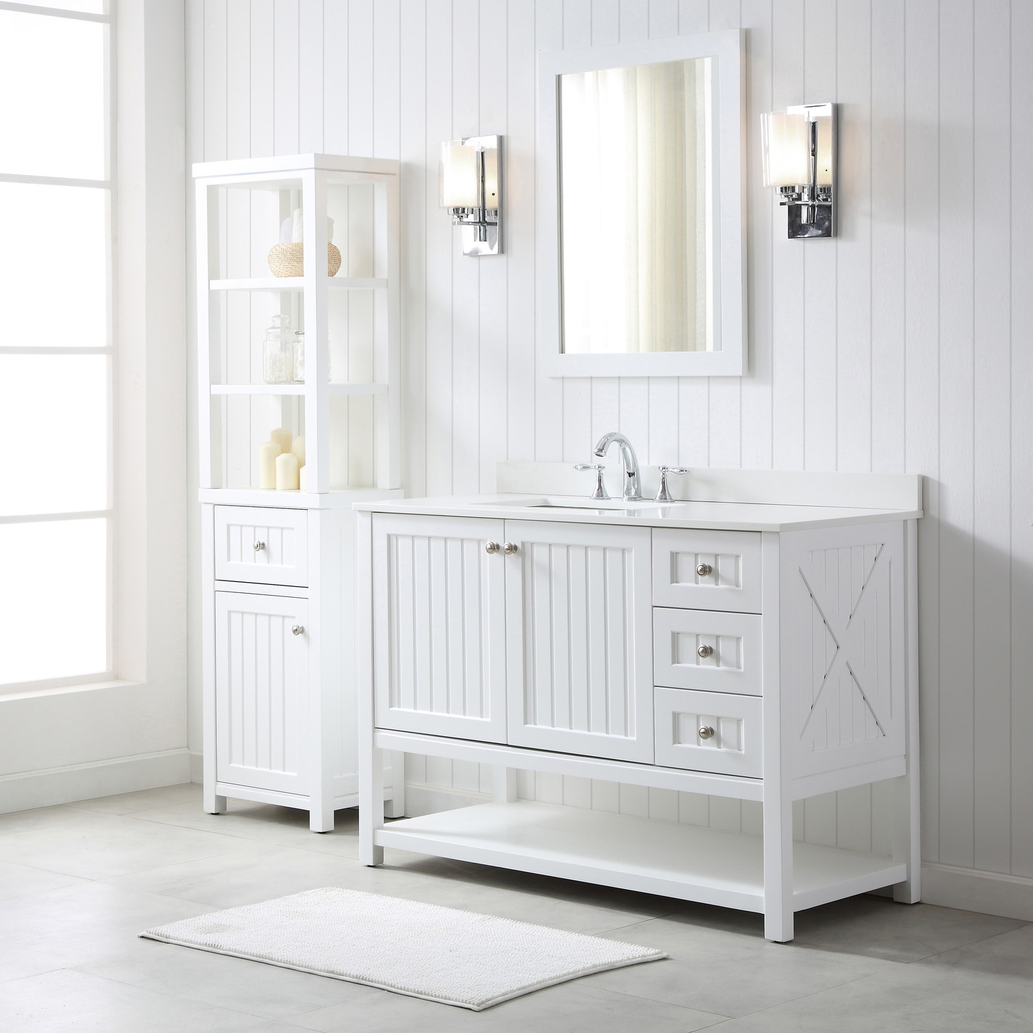 Video: Martha Stewart Living Seal Harbor Bath Vanity Collection | Martha  Stewart