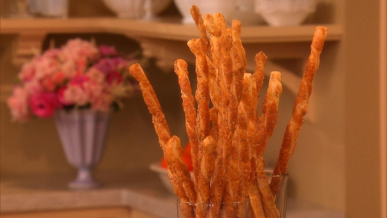 Video: French Cheese Straws | Martha Stewart