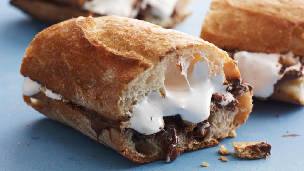 Hazelnut S Mores Sandwich