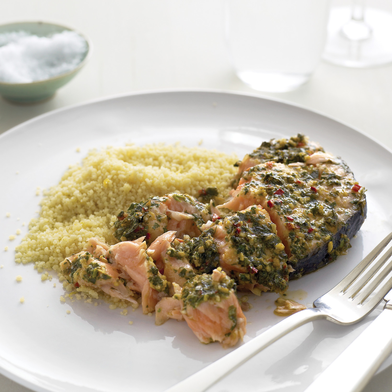 Marinated salmon steaks with couscous forumfinder Gallery