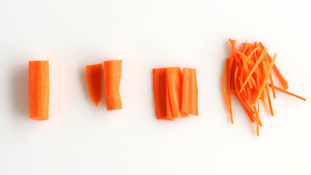 Video How To Julienne Carrots Martha Stewart