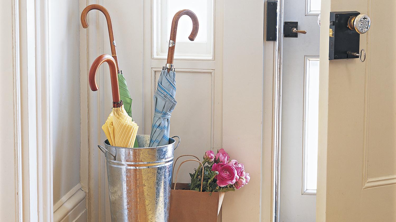 Bucket Umbrella Stand Martha Stewart