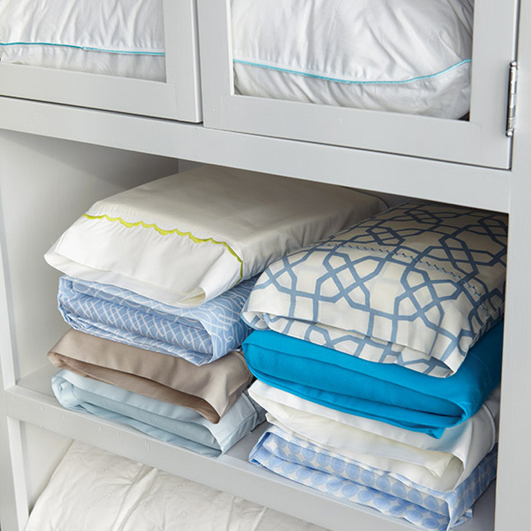 Awesome Storage For Sheets And Blankets #13 - Martha Stewart