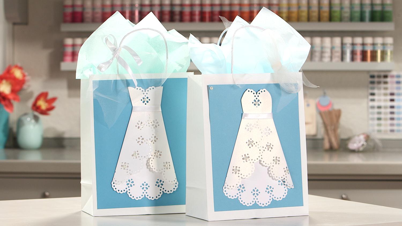 Video: Wedding Dress Gift Bags | Martha Stewart