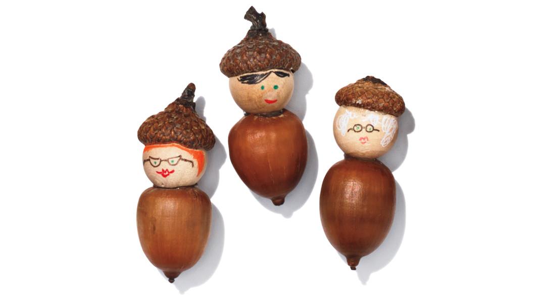 Acorn Doll Family Martha Stewart