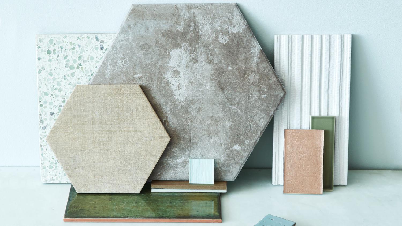 assorted tiles