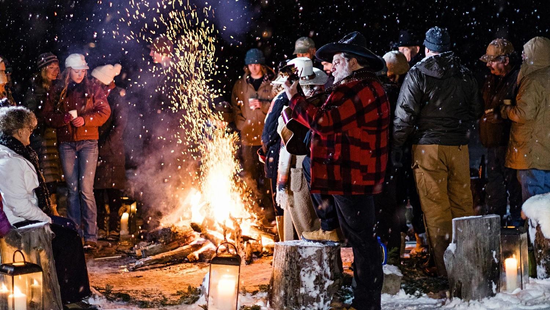 bonfire guests