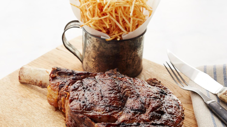 Grilled Cowboy Steak