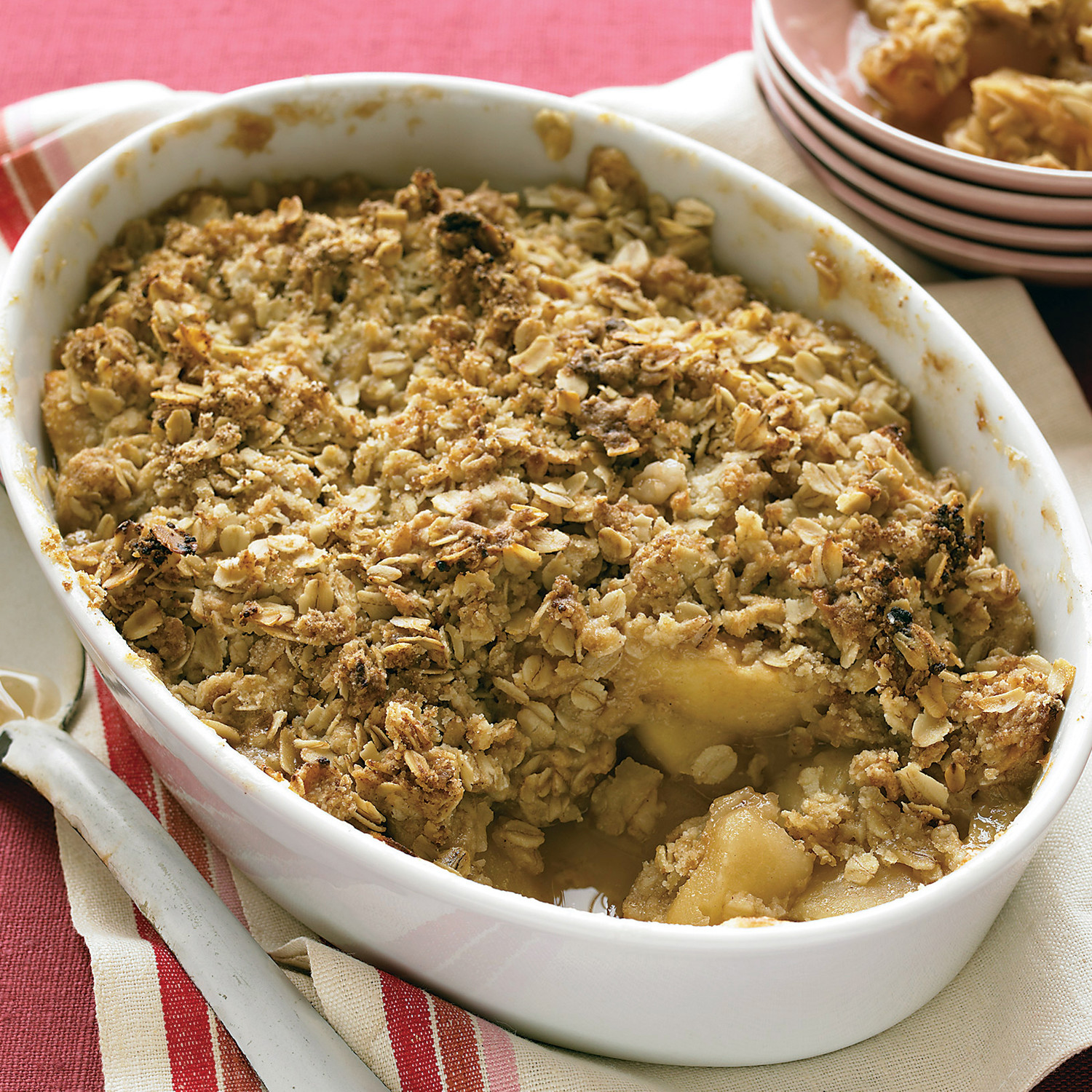 Apple crisp for What to make with apples for dessert