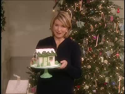 Video Holiday Sugar Cube House Martha Stewart