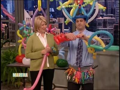 Video How To Make Balloon Hats Martha Stewart