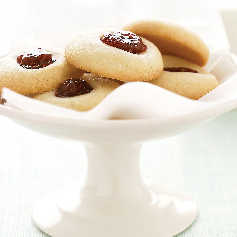 Aunt Maggie\'s Jam Thumbprint Cookies
