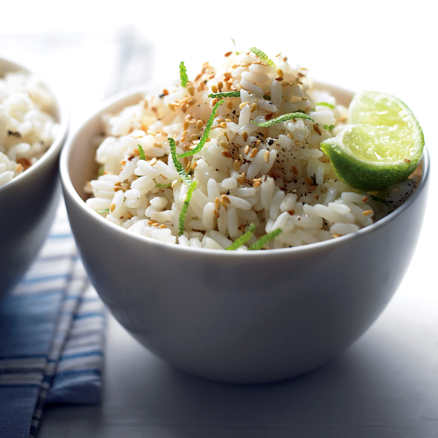 Sesame Lime Rice