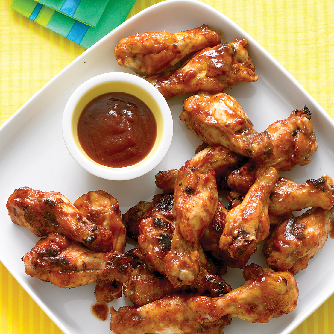 Brown sugar barbecue chicken drumettes forumfinder Image collections