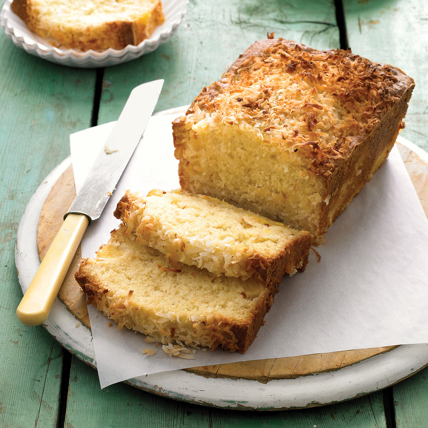 Recipe for a pineapple coconut cake