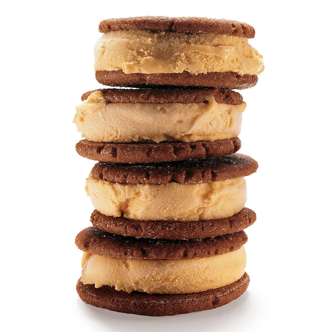 Pumpkin-Gingerbread Ice Cream Sandwiches Recipe | Martha Stewart
