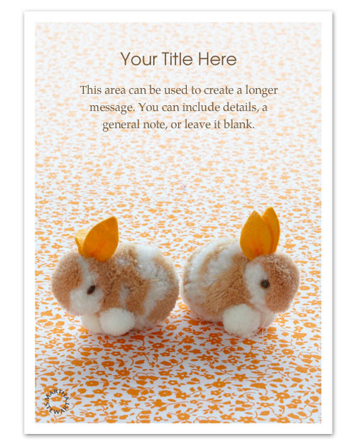 Online Invitations for Your Easter Celebration – Easter Invitations Template