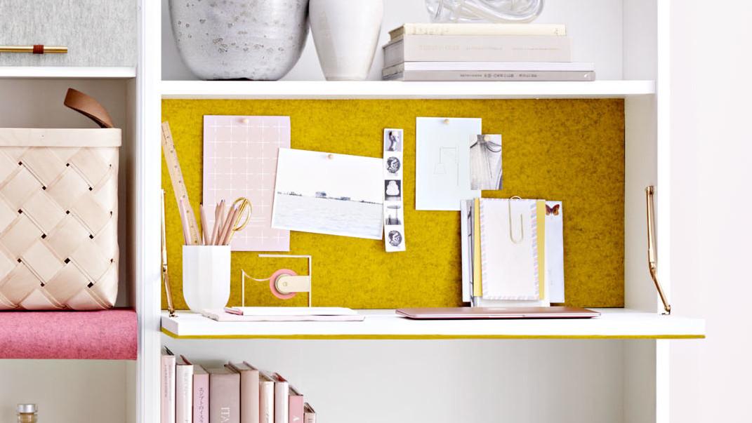 Fold-Down Desk