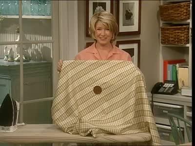 Video Umbrella Hole Tablecloth Martha Stewart