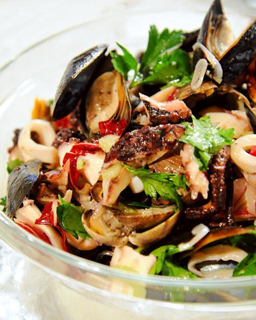 Seafood Salad Recipe Amp Video Martha Stewart