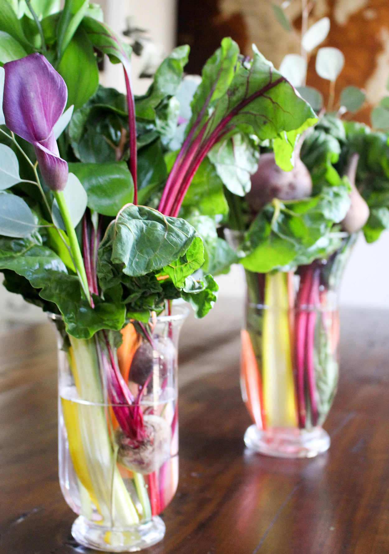 How To Make A Bouquetout Of Vegetables Martha Stewart