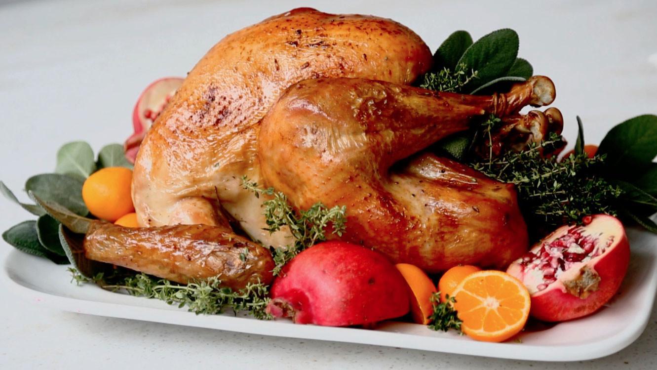 Video Dry Brined Roasted Turkey Martha Stewart