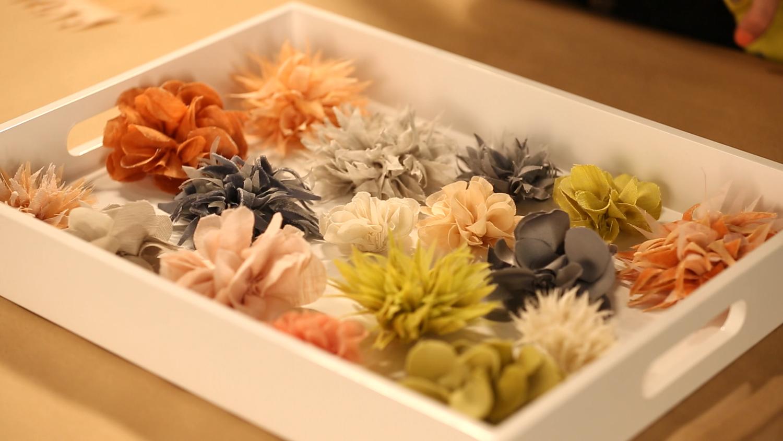 Video Easy Fabric Floral Brooch Martha Stewart
