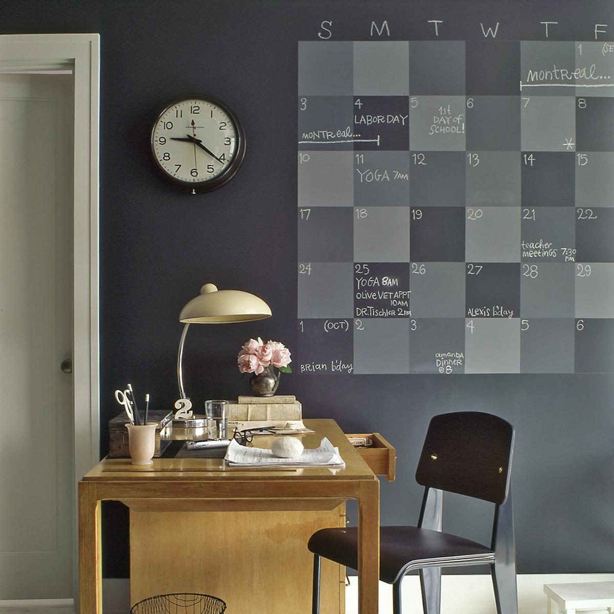 Chalkboard Paint Home Helpers