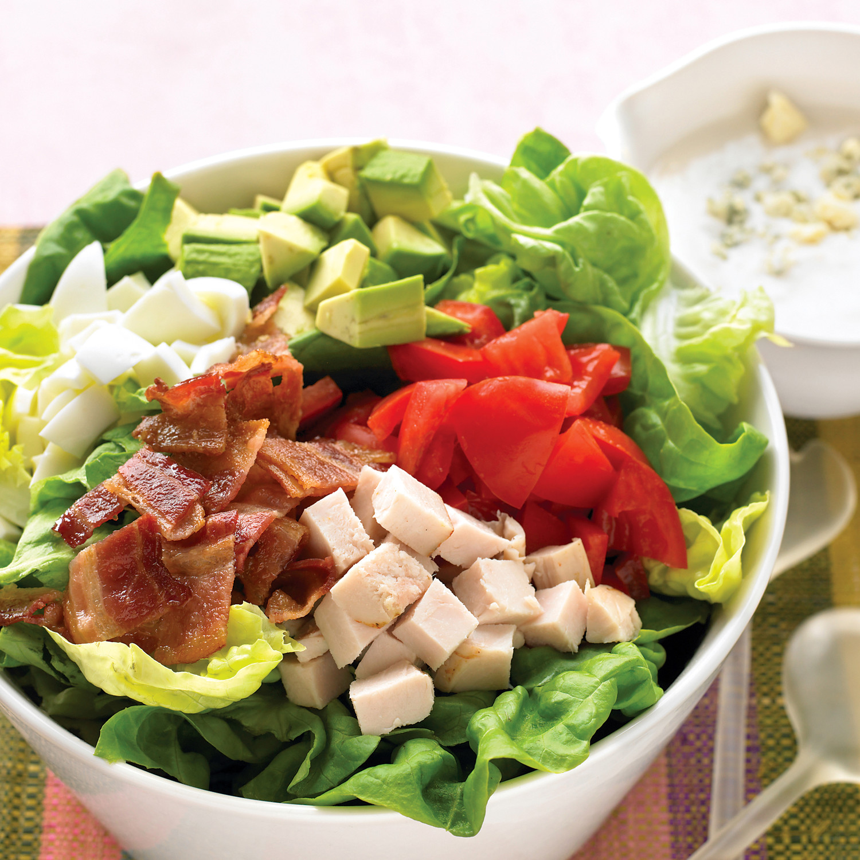 Lighter Cobb Salad