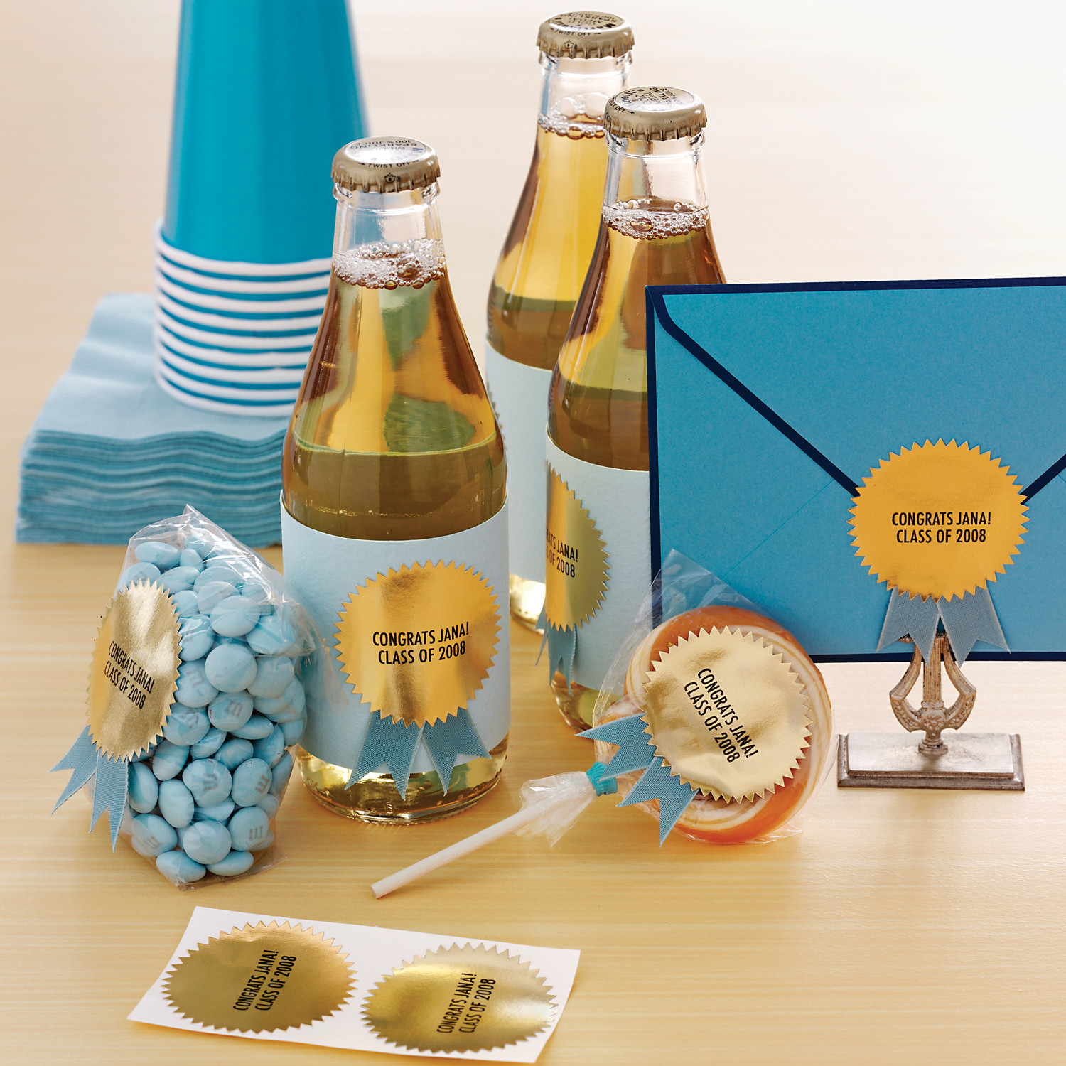 Graduation party favors ideas to make