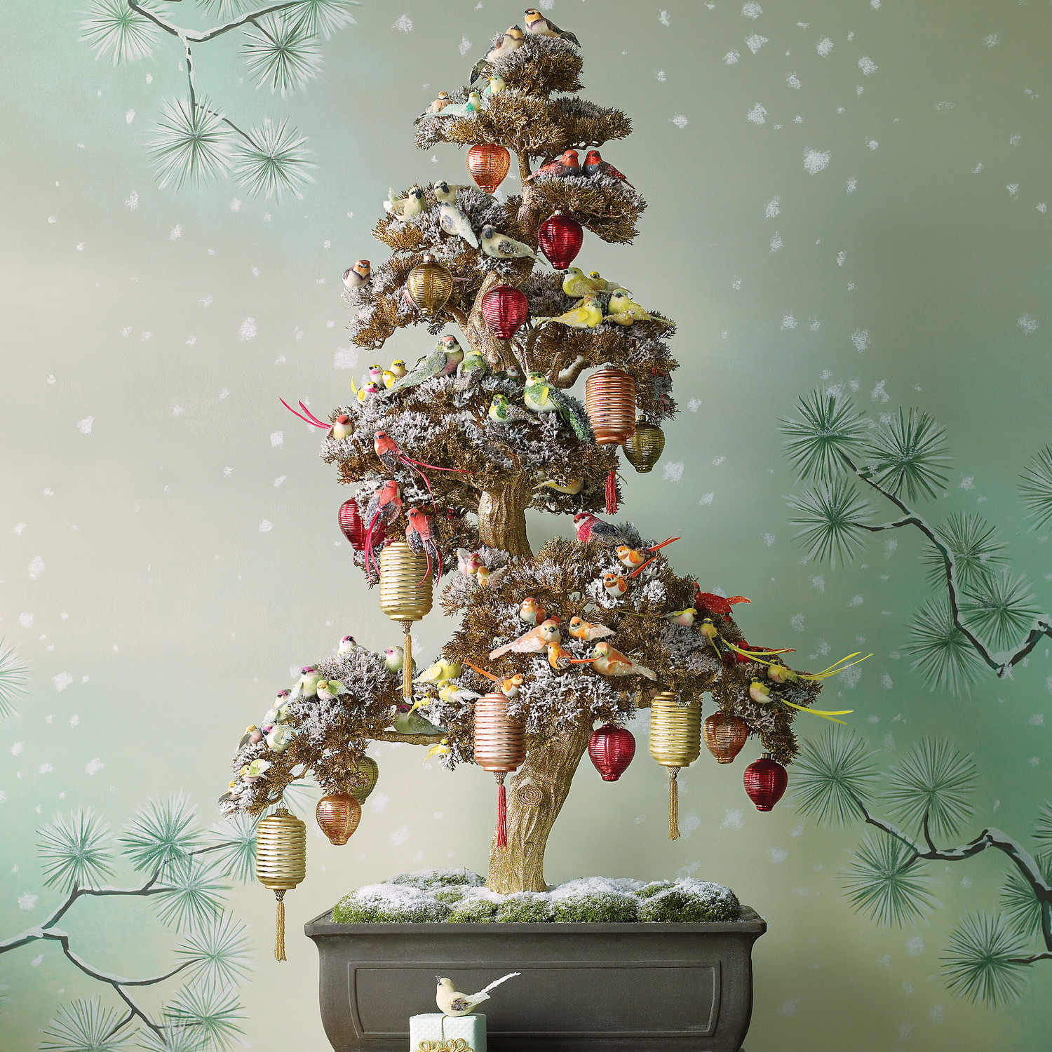 28 creative christmas tree decorating ideas martha stewart - Green Christmas Decorations