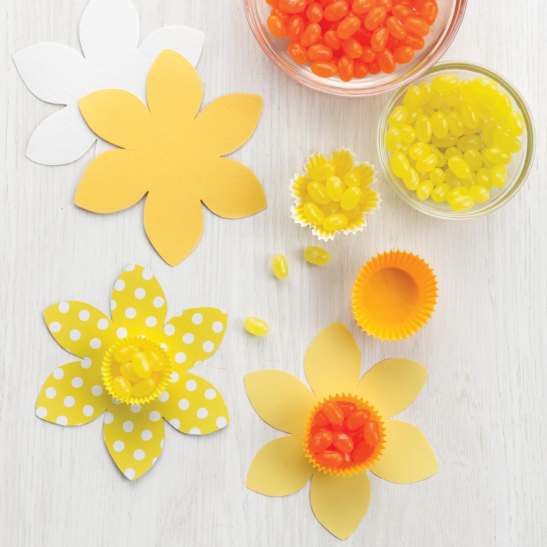 Daffodil Candy Cups Martha Stewart