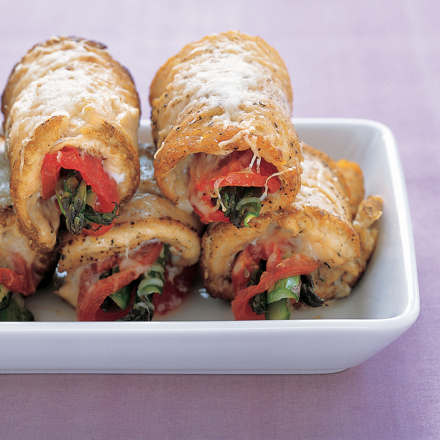 Chicken and asparagus rolls ccuart Image collections