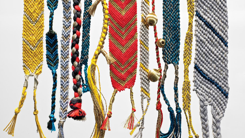 Friendship Bracelets All Grown Up Martha Stewart