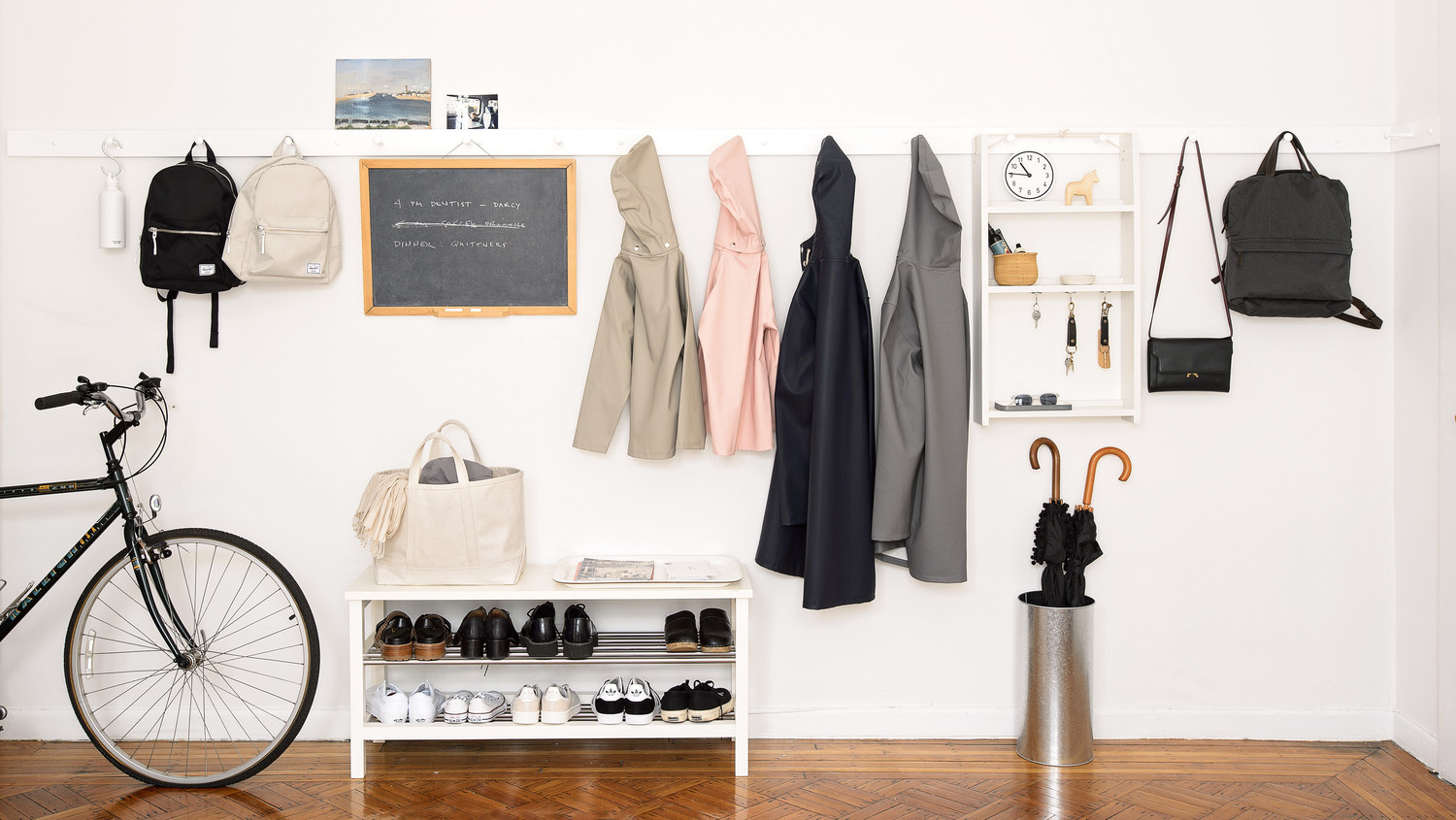 18 Ideas for Creating a More Organized Entryway