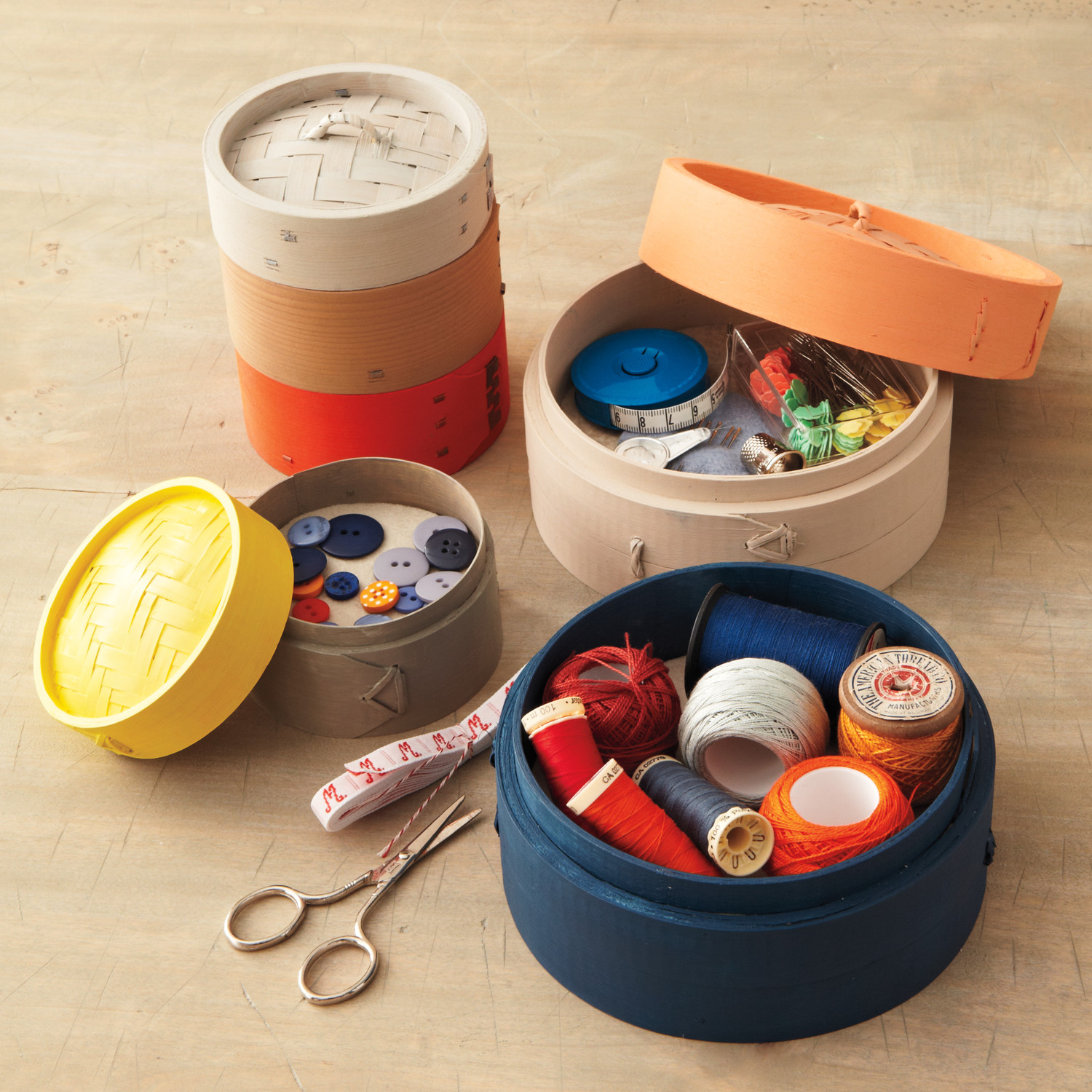 & This Is What the Ultimate Sewing Basket Looks Like | Martha Stewart