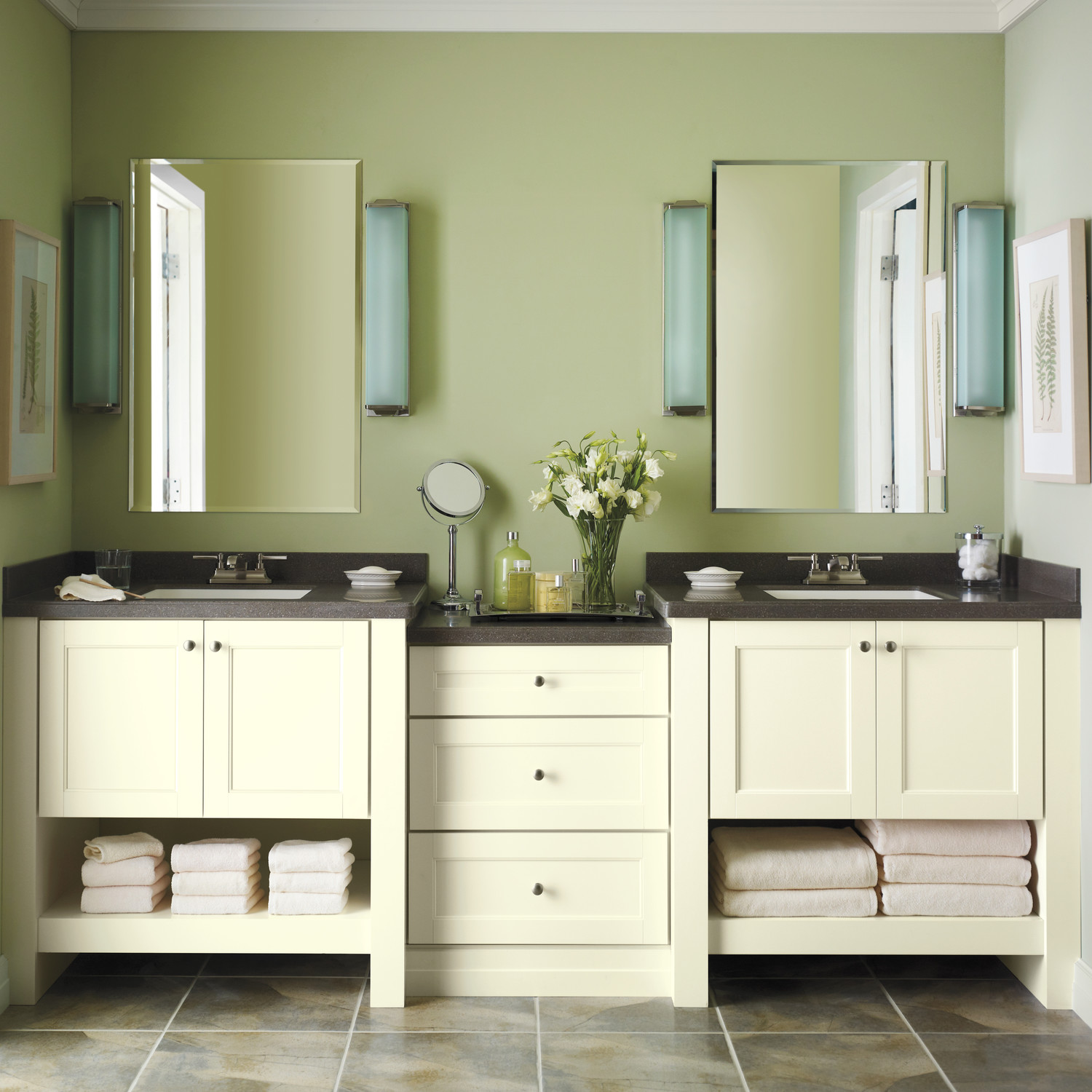 Martha stewart living cabinet solutions from the home depot martha stewart Home depot bathroom design center