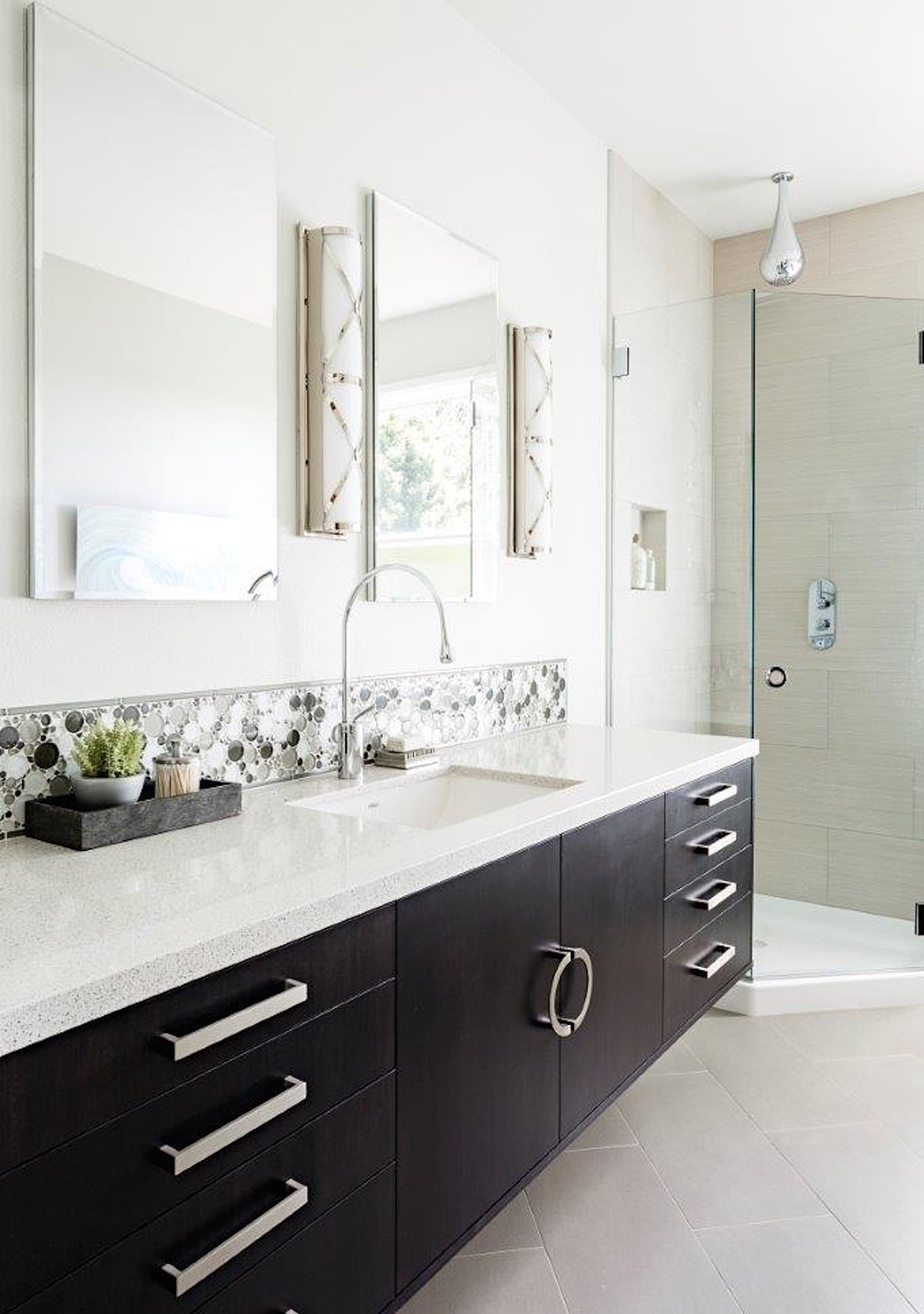 Bathroom Remodels On A Budget easy, budget mini bathroom makeovers | martha stewart