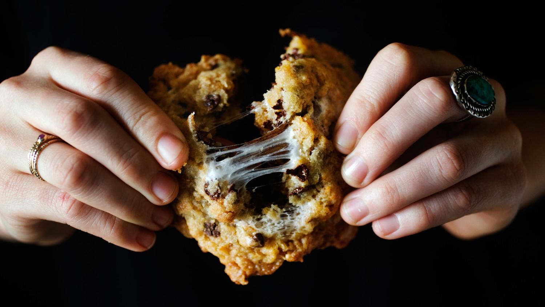 Cornflake Chocolate Chip Marshmallow Cookies Recipe
