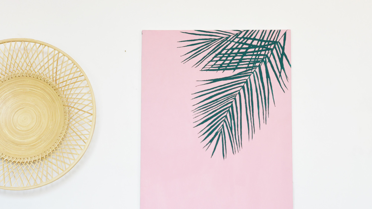 Palm Leaf Wall-Art