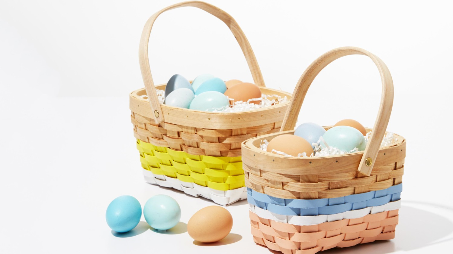 Paint A Personalized Easter Basket Martha Stewart
