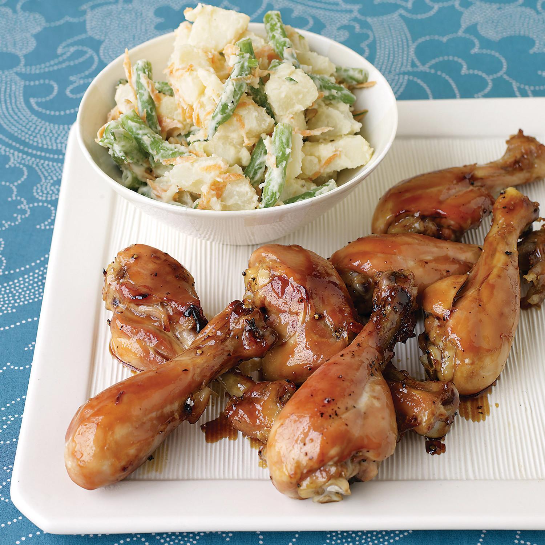 Honey-Soy Glazed Chicken
