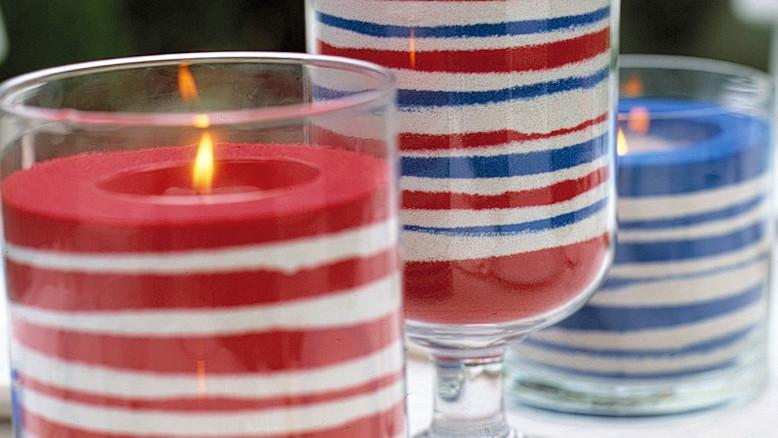 Easy Sand Candles Martha Stewart