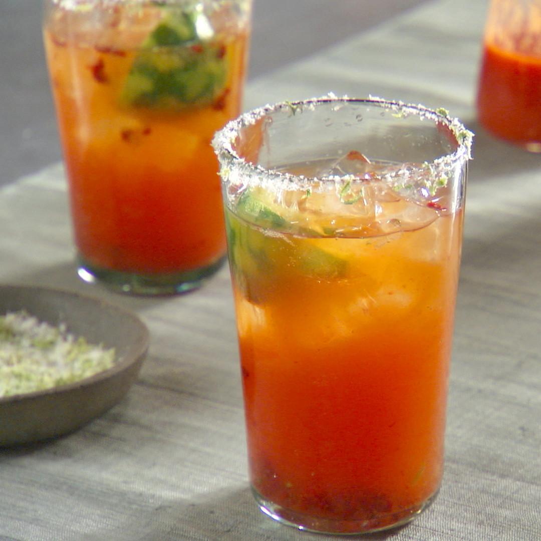 Michelada Beer Cocktail Recipe Amp Video Martha Stewart