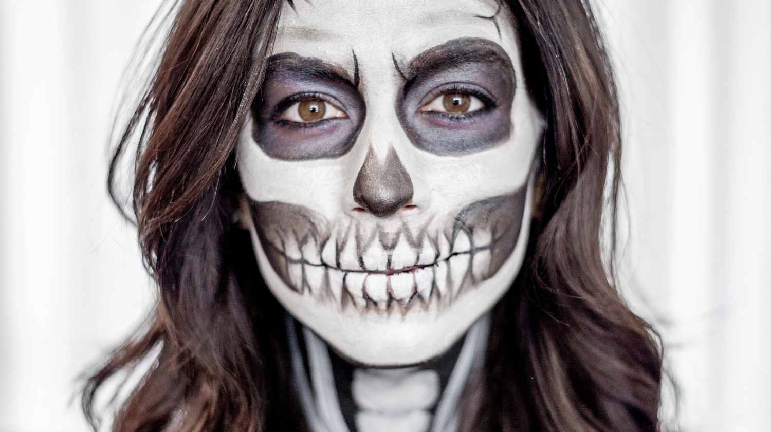 Skeleton Makeup Martha Stewart