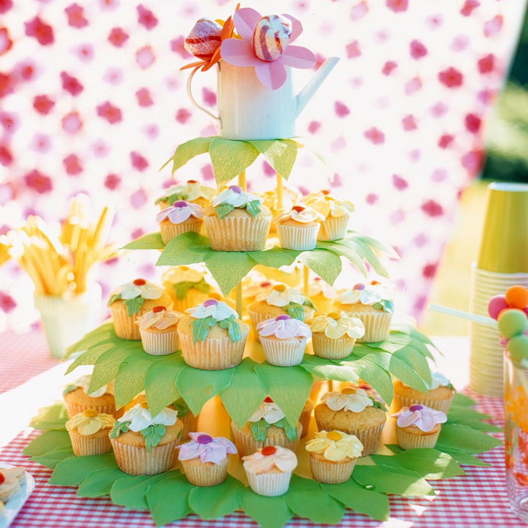 Flower Cupcakes Recipe | Martha Stewart
