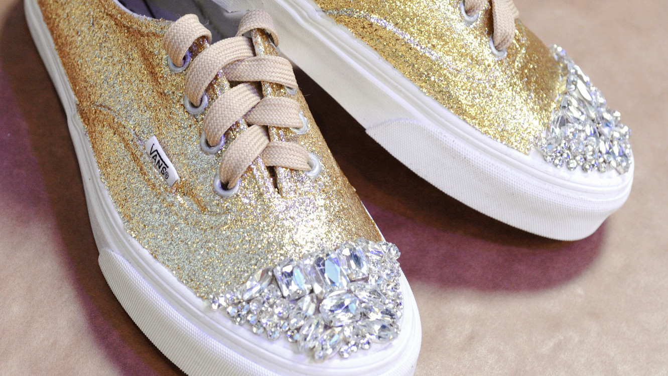 Glittered Sneaker Shoes   Video  e7012cd84