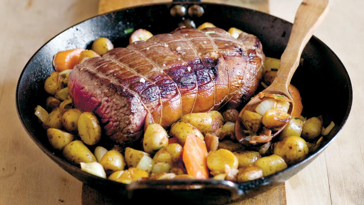 Grandma's Roast Beef Recipe & Video  Martha Stewart
