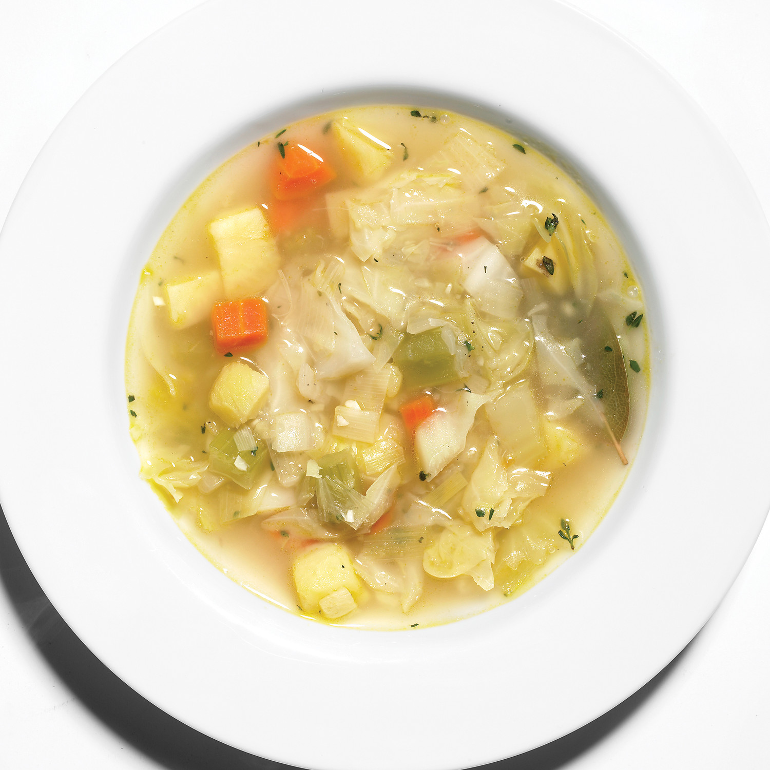Cabbage Vegetable Soup